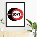 Plakat Choose Love -