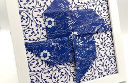 Obrazek origami z papieru na ścianę Wiatrak