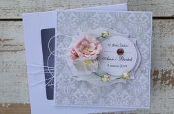 Kartka ślubna z personalizacją + pudełko a2