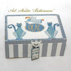 """Pudełko wspominajka """"OLAF"""""""