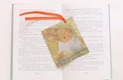 Retro zakładka do książki z wiewiórką n9