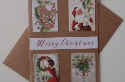 Kartka Boże Narodzenie Merry Christmas