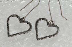 Serduszka - srebrne kolczyki 180206-03