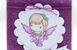Cudownej Babci z aniołkiem KDB1802