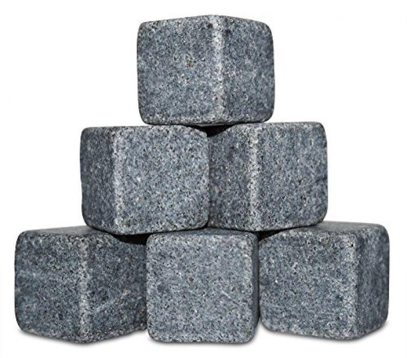 Whisky Stones pudełko - kamienie wykonane z granitu