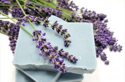 Mydło lawendowe - błękitna glinka