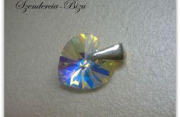 Zawieszka Swarovski Elements Heart 10mm Crystal AB