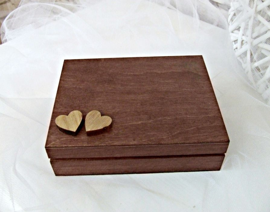 "Pudełko na obrączki ""Rustic Love"""