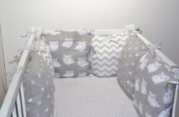 Modułowy ochraniacz do łóżeczka 6 szt N42