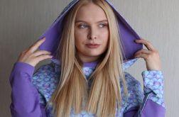 Bluza damska z kapturem ŁUSKI