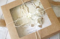 Kartka ślubna w pudełku - rustykalna Natura.3