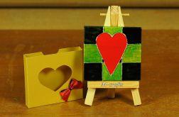 Kartka-Magnes: Serce...