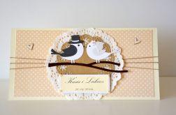 Kartka ślubna- zamówienie specjane