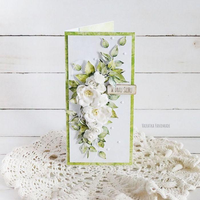 Kartka ślubna w pudełku, 454