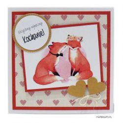 Kartka dla dziewczyny na urodziny / rocznicę
