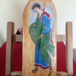 Anioł -Gabriel na desce