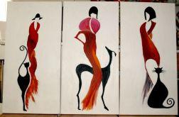 Kobiety w czerwieni