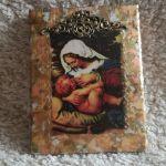 Ikona z wizerunkiem Matki Bożej Karmiącej - Dla domu- idealny prezent
