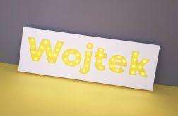 Personalizowany obraz LED Twoje imię