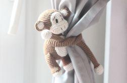 Małpka - uchwyt do zasłon - 2 sztuki
