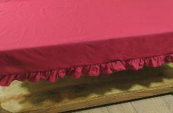 Bieżnik na ławę/ stolik BORDO FALBANA 155 cm x 92 cm