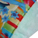 Sowy kolorowe -kocyk, kołderka