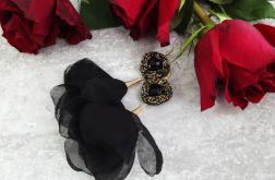 Fiona 2 - kwiatowe kolczyki sutaszowe