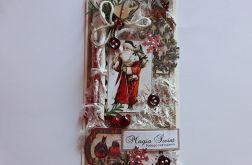 Kartka świąteczna,rustykalna 2