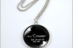 Medalion, naszyjnik - Dreamer - black