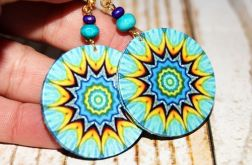 Mandala Green Blue
