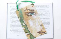 Kolorowa zakładka do książki - woman nr4