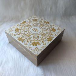 szkatułka - pamiątka I Komunii Św. wzór IHS