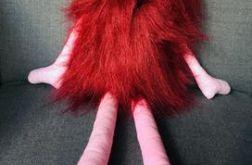 Czerwony kudłacz -potworek stworek