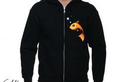 Złota rybka - bluza rozpinana