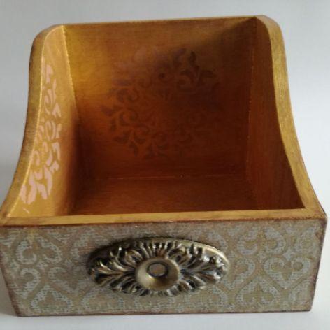 Pudełko organizer dla mężczyzny