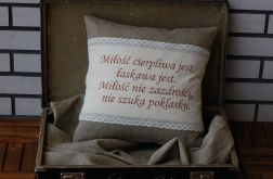 Poduszka - Miłość rustykalna