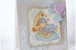 Kartka dla dziecka urodziny narodziny chrzest