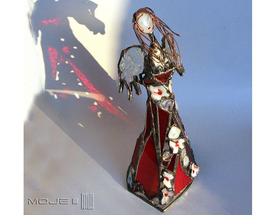 Anioł Raschea - anioł ze szkła