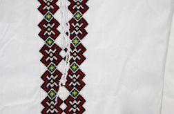 Koszula łemkowska - len biała męska
