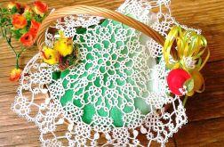 Wielkanocna Serwetka frywolitkowa 33cm