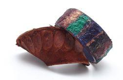 Drewniana bransoletka Kolorowe Pasy