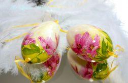 Pisanka malowane anemony