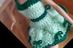 Ubranko dla lalki barbie - sukienka