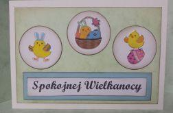 Kartka wielkanocna z kurczaczkami (1)