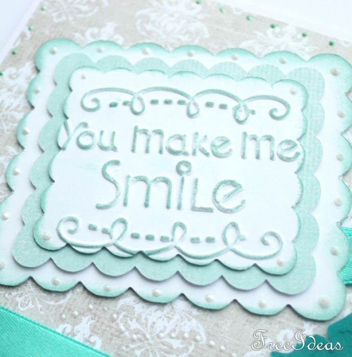 You make me smile walentynka