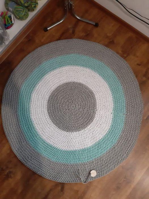 Dywan ze sznurka 120 cm