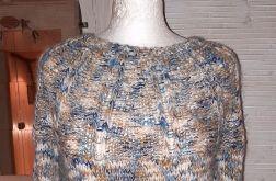 ciepły sweter wełna akryl