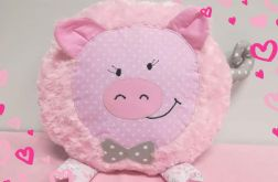 Poduszka-przytulanka świnka