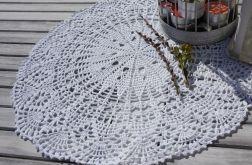 Serweta szydełkowana okrągła 56 cm