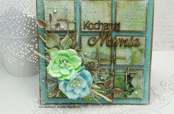 Dla Ciebie Mamo - kartka z pudełkiem